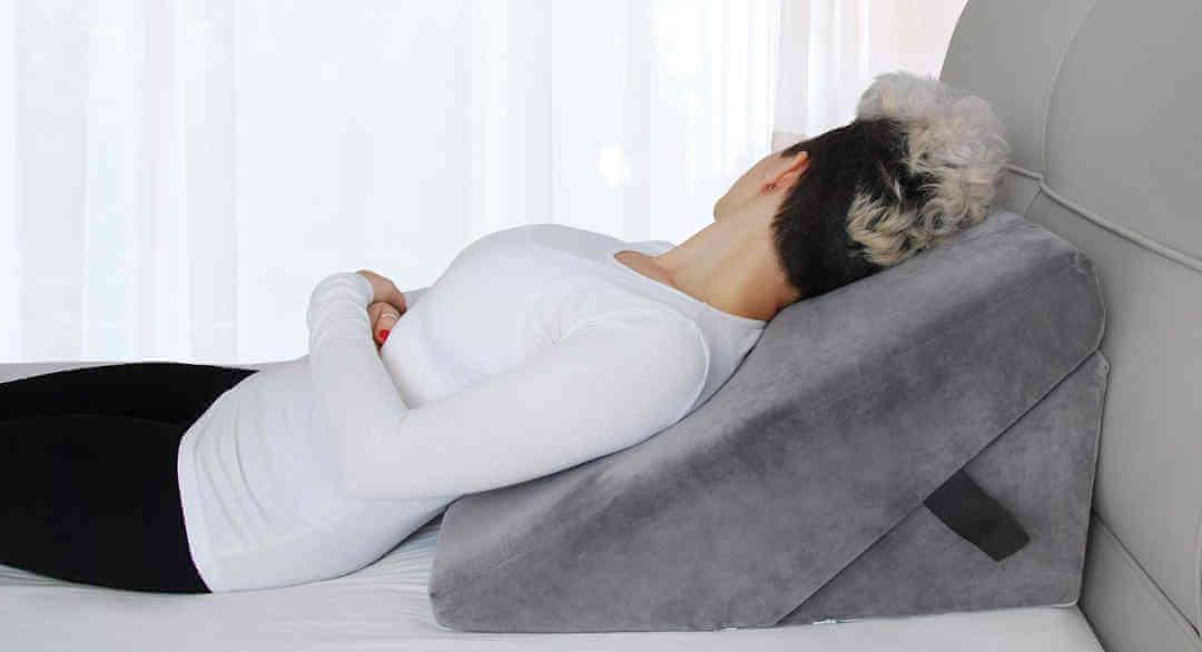 cuña para cama hernia de hiato