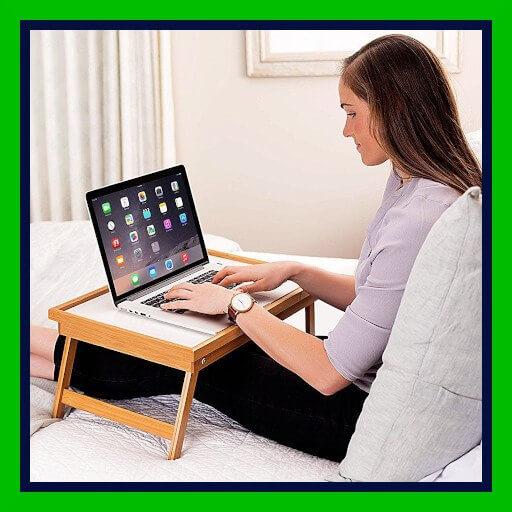 mesa de cama para ordenador